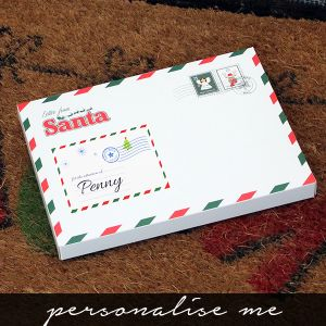 Letter from Santa Personalised gift box