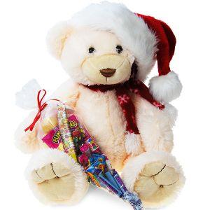 Christmas Sweetie Bear White