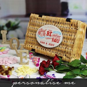 Be My Valentine Sweet Hamper - Personalise Me