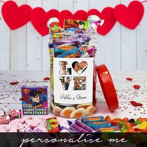 LOVE' Photo Gift - Retro Sweet Jar