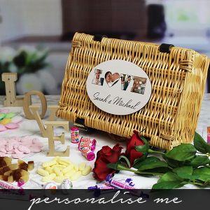 LOVE' Photo Gift - Retro Sweet Hamper