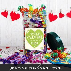 My Vegan Valentine' Sweet Jar
