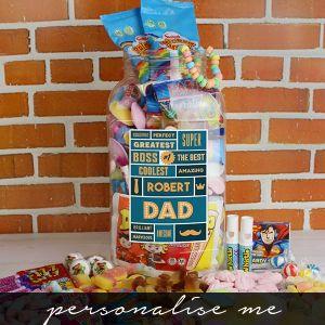Best Dad - Retro Sweet Large Jar