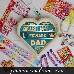 Best Dad - Large Sweet Heart