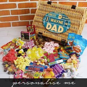Best Dad - Retro Sweet Hamper