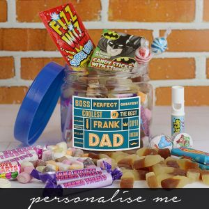 Best Dad - Retro Sweet Taster Jar