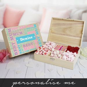 Best Mum - 6 Compartment Sweet Box
