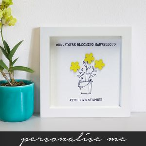Hand Finished Blooming Marvellous Poster