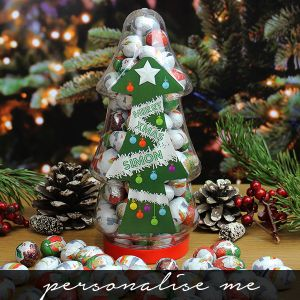Christmas Tree Sweet Jar - Chocolates