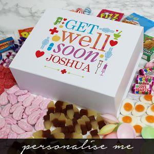 Get Well Soon Deluxe Sweet Box