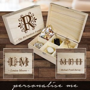 Personalised Monogram Box