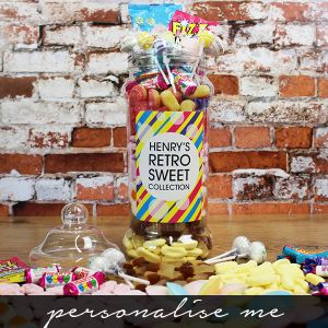 Giant Victorian Retro Sweet Jar Lifestyle Photo