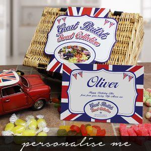 Great British Sweet Hamper Lifestyle Photo