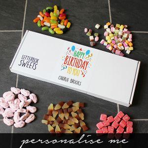 Happy Birthday - Letterbox Sweets