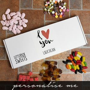 I Love You - Letterbox Sweets