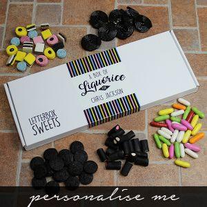 Liquorice - Letterbox Sweets