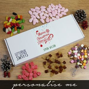 Merry Christmas - Letterbox Sweets