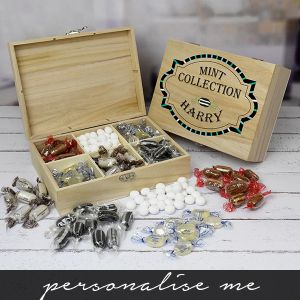 Mint Collection - Wooden Sweet Box