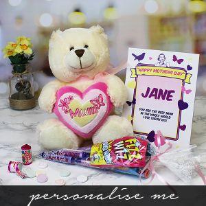 Mum' Bear & Sweet Bouquet