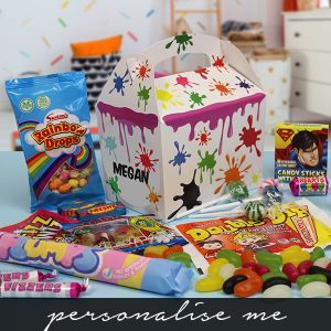 Kids Sweetie Boxes - Paint Splash Lifestyle Photo