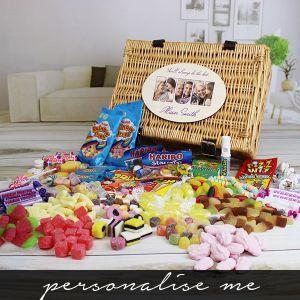 MUM Photo Gift - Retro Sweet Hamper