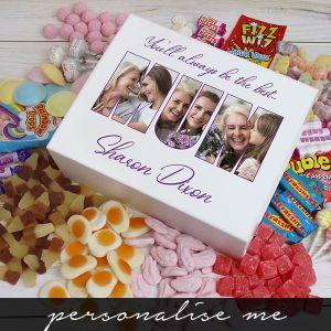MUM Photo Gift - Deluxe Sweet Box - white