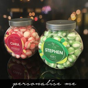 Prosecco & Gin Sweet Jar Set - New