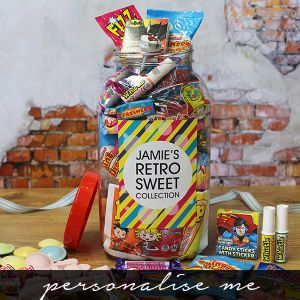 Giant Retro Sweet Jar