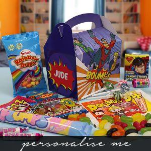 Kids Sweetie Boxes - Super Hero Lifestyle Photo