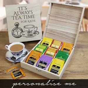Wooden Tea Chest Lifestyle Photo