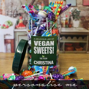 Vegan Sweet Jar