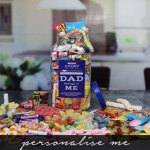 Worlds Greatest Dad Sweet Jar - Large